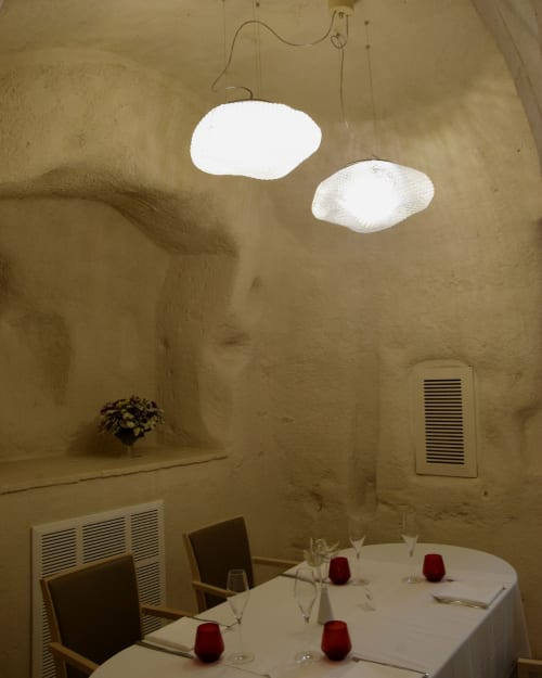 Pendants by Sintesi Contract seen at Dedalo - Sensi sommersi, Matera - Nuvola