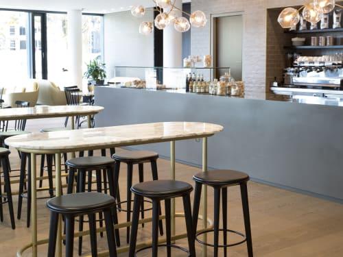 Chairs by Minus tio seen at Daimler head office, Stuttgart - Audrey