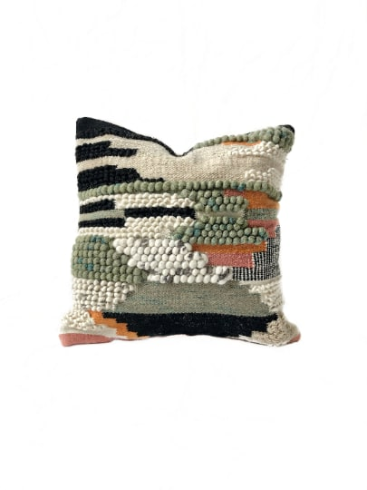 Pillows by Coastal Boho Studio seen at Creator's Studio, Destin - Calliope Pillow Cover | Pre-Order