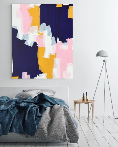 Paintings by Maggi McDonald seen at Private Residence, Sydney - Turmeric I