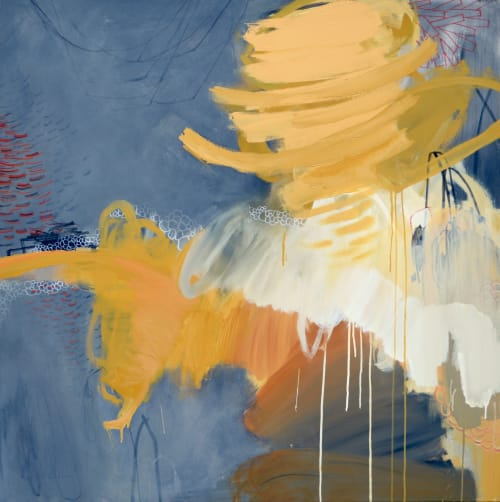 Paintings by Gena Brodie Robbins - Brodie Studio seen at Brodie Studio, Buford - Out of Bounds