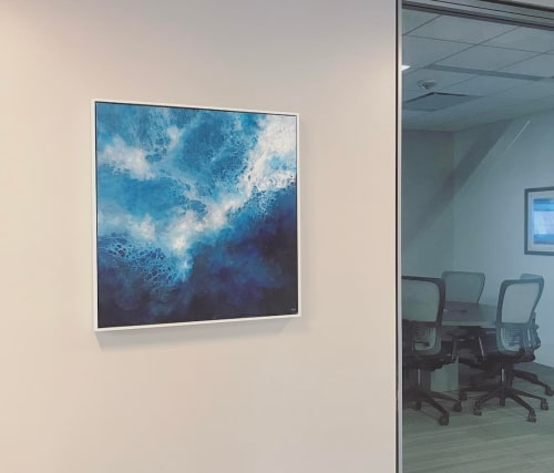 "Paintings by Shaylen Amanda Broughton at Capital One Café, Richmond - ""Resonance"""