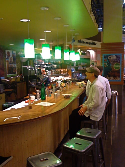 Pendants by CP Lighting at Whole Foods Market, Bay Place, Oakland - Popsicle Pendants