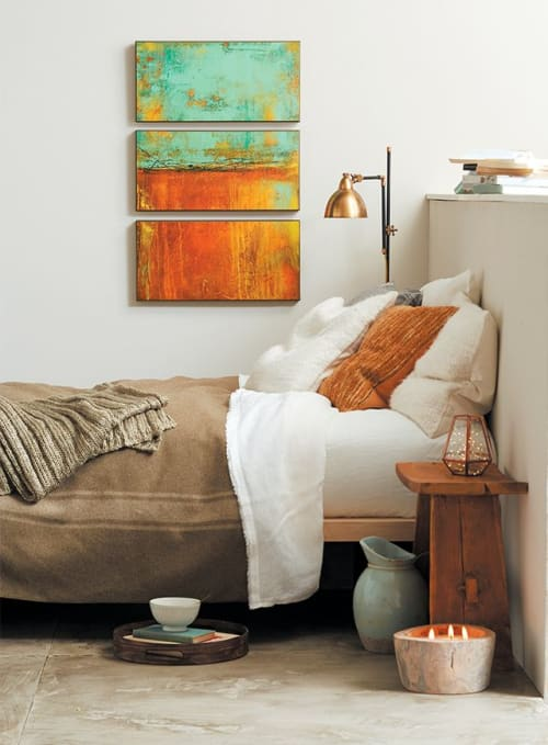 Paintings by ERIN ASHLEY seen at California - Published art. Luxury Portfolio & art.com magazines