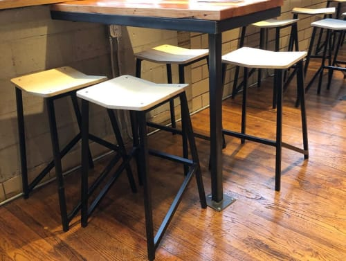 Custom Stools   Chairs by Housefish   Leevers Locavore in Denver