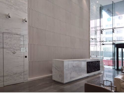 Tiles by Giovanni Barbieri seen at Hotel Jen Beijing, Chaoyang Qu - Triface 3D Collection