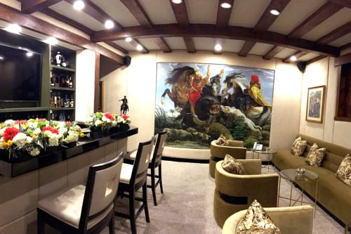 Murals by Murals by Georgeta (Fondos) seen at Private Residence - Residential Mural ala Rubens