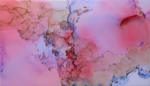 'NYMPH' | Paintings by Christina Twomey Art + Design