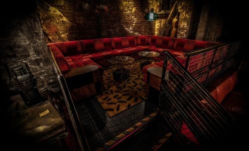 Alley Cat Amateur Theatre, Night Clubs, Interior Design