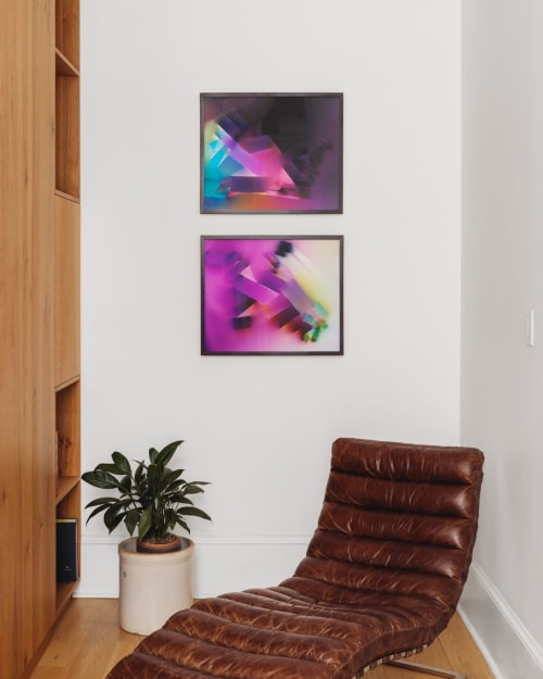 Wall Hangings by Natalja Kent seen at Private Residence, Los Angeles - Chromogenic Images