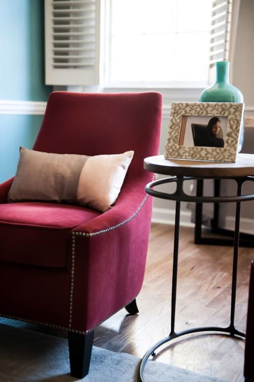 Interior Design by VRA Interiors seen at Private Residence, Atlanta - Wieuca Road