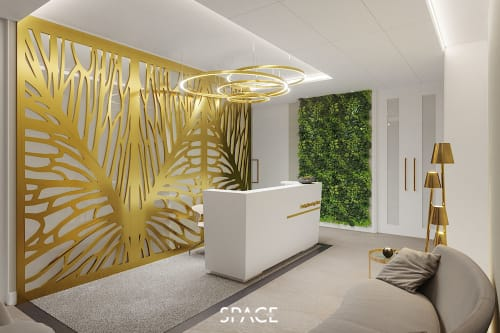 Sculptures by THESPACE ARCHITECTS | INTERDISCIPLINARY DESIGN STUDIO seen at MEDIQ Specialist Hospital and Clinics, Legionowo - Sculpture