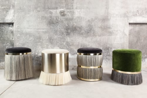Benches & Ottomans by Konekt seen at Konekt Studio, New York - Thing Stools