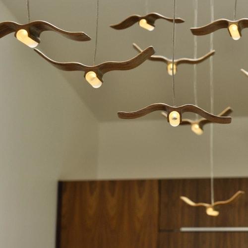 Pendants by LightLite at Private Residence, Portland - FlightLites