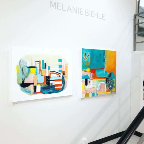 Paintings by Melanie Biehle seen at Seattle, Seattle - Seeing the Unseen