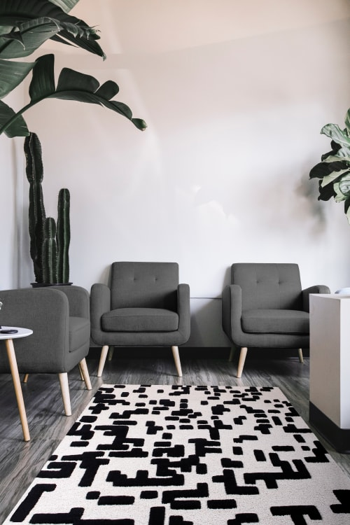 Rugs by Ferreira de Sá seen at Private Residence, Vienna - BYTES RUG