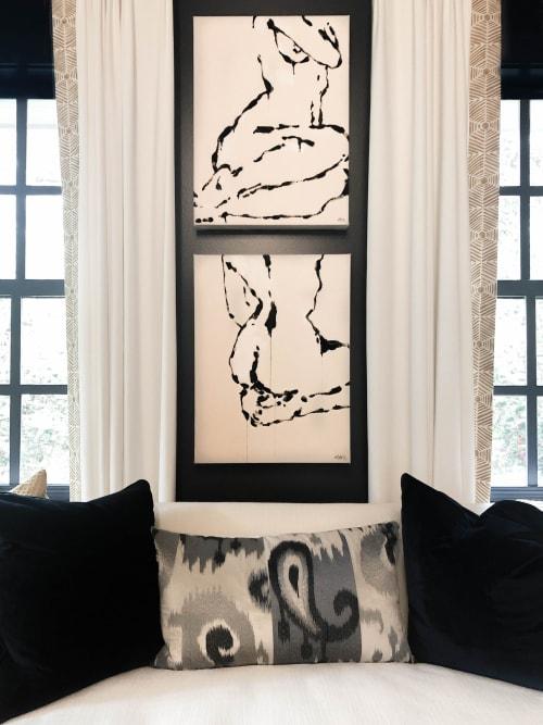 Paintings by Anna Michele Art - Figure II & Figure III