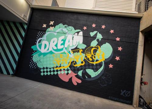 Kyle Mosher - Murals and Street Murals