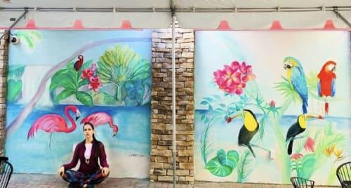 Murals by Lia Art seen at New York, New York - Murals by Lia