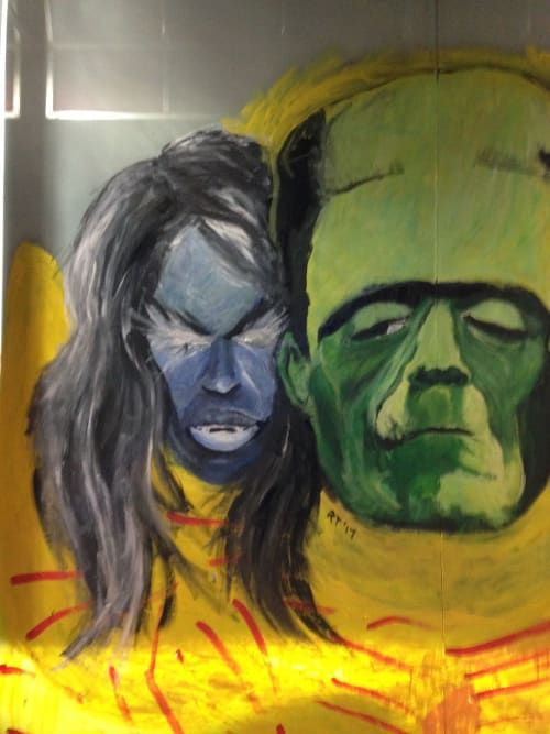 Murals by Rich T. seen at Harlem, New York - Halloween Mural Two