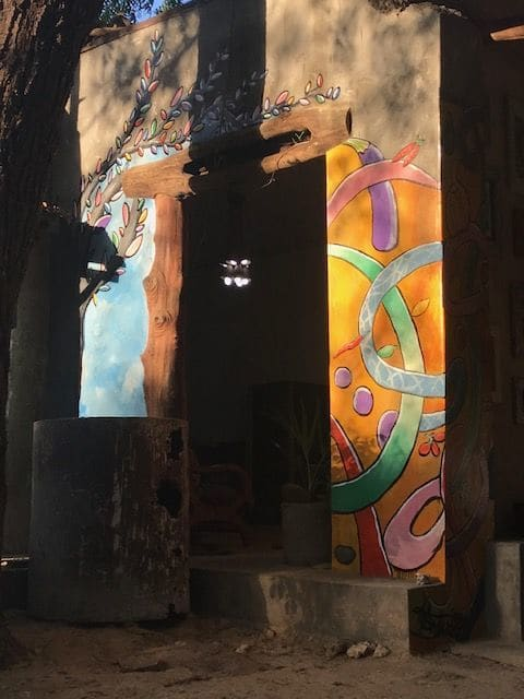 Murals by Kelly Anderson seen at Kilifi, Kilifi - Artist Residency