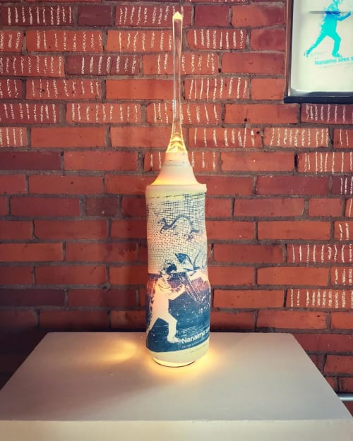 Lighting by Ciro Di Ruocco seen at The Clay Studio, Philadelphia - Chase the Dragon