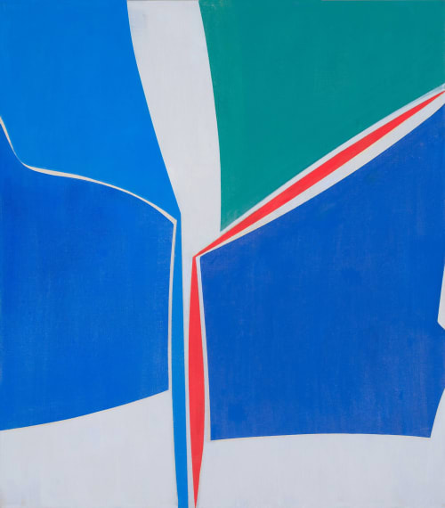 Paintings by Joanne Freeman seen at Private Residence, New York - Playing Favorites