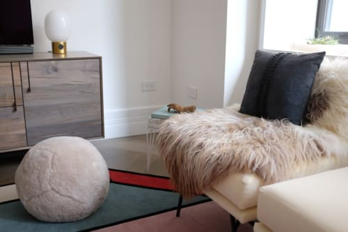 Ottoman X   Benches & Ottomans by Moses Nadel   Independent Lodging Congress, in the William Vale NYC in Brooklyn
