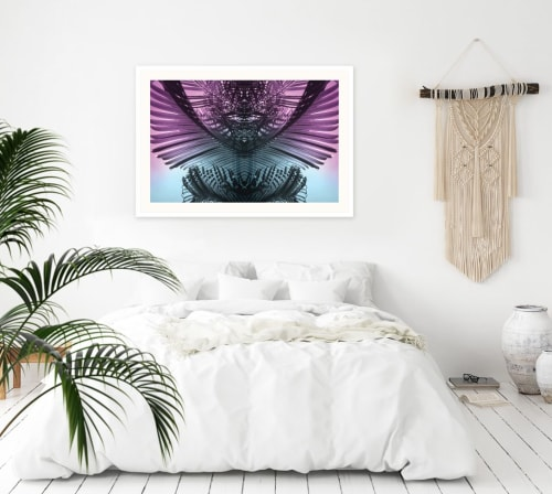 Photography by Stephanie Mill seen at London, London - Purple Palms 1