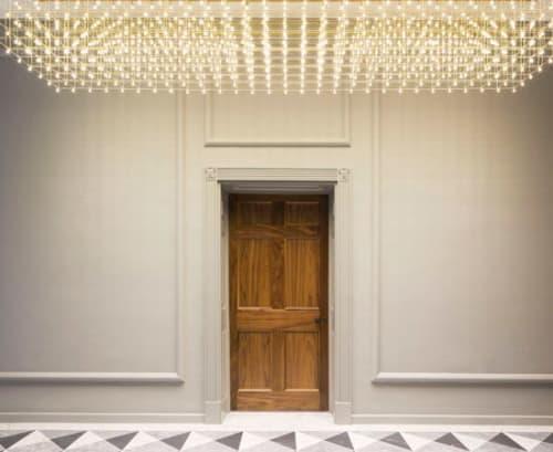 Lighting Design by Lighting Design Studio seen at 9 Grosvenor Square, London - Grosvernor Sq