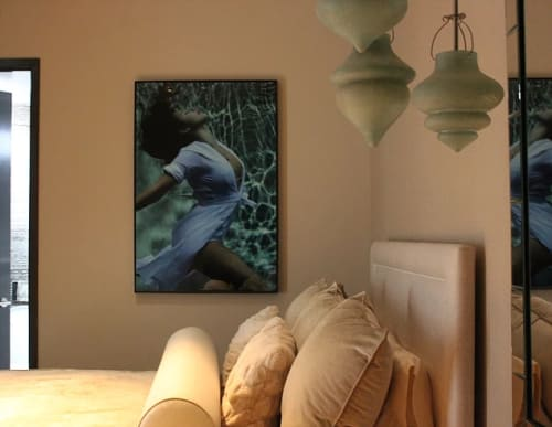 Photography by Andrea Bonfils seen at Private Residence, New York - Underwater mixed media