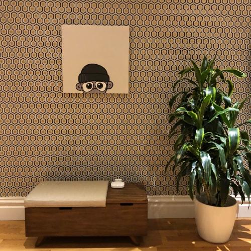 Paintings by yon seen at San Francisco, San Francisco - Emerging Homie - Grey