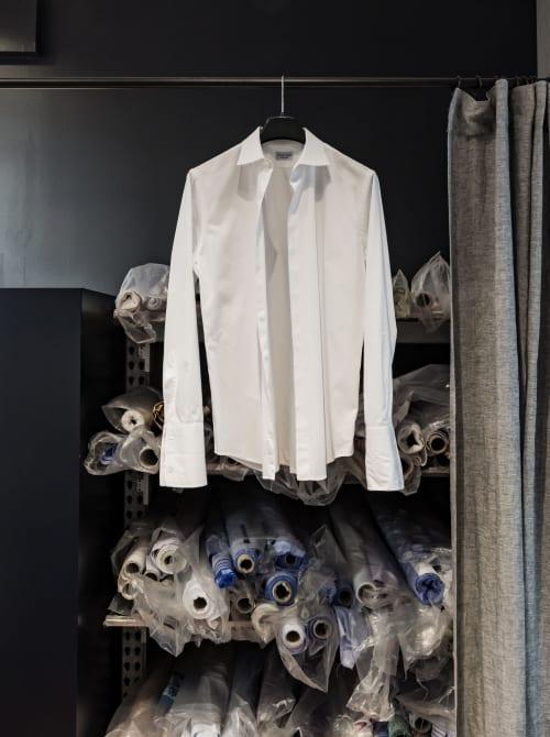 Interior Design by INK interior architects seen at Marbo Shirt, Sydney - Marbo Shirt Studio