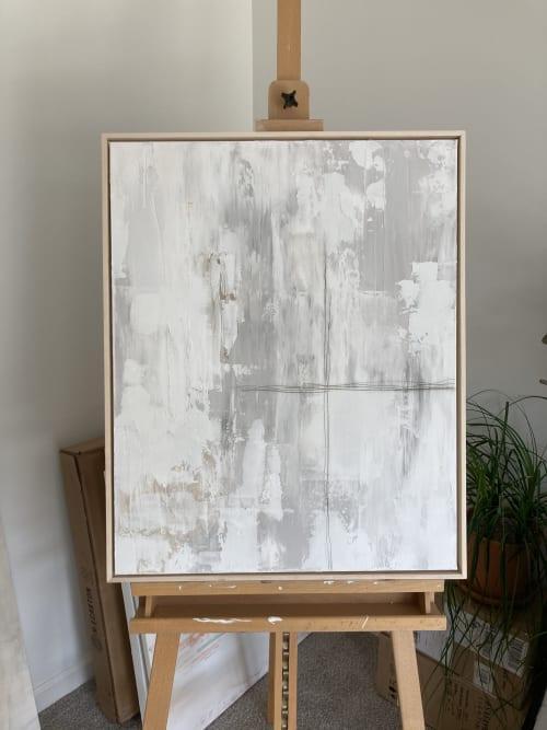 Paintings by Emily Anne Art Studio seen at Creator's Studio, Marietta - Meltdown at the Cross