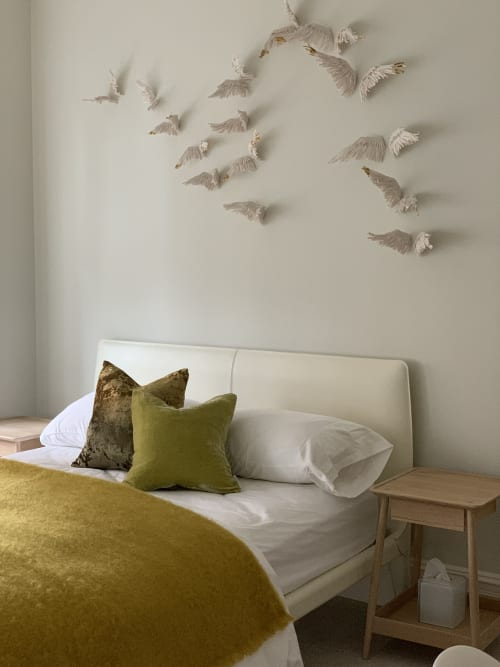 Wall Treatments by Jocelyn Braxton Armstrong seen at Private Residence, New York - Porcelain Wings