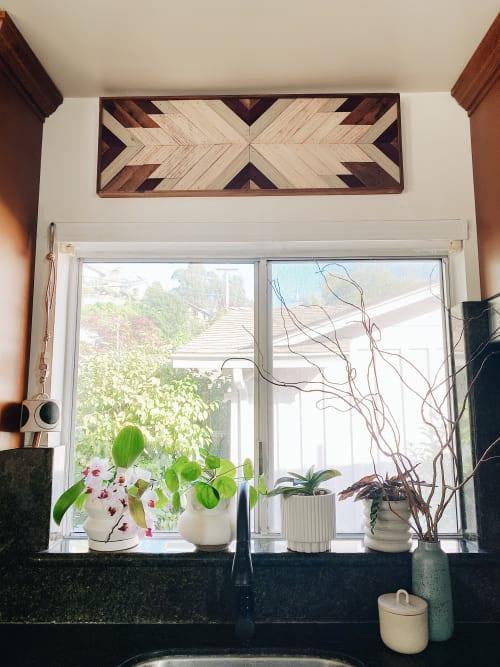 Wall Hangings by Aleksandra Zee seen at Jen Woo's Home, Oakland - Wood Art