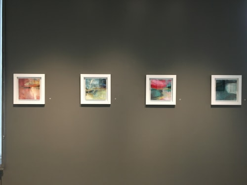 Paintings by Kim McAninch seen at The Westmoreland Museum of American Art, Greensburg - HEAD & HEART Series