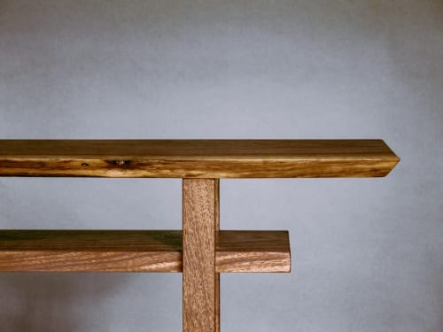 Add a Live Edge Walnut Table Top | Tables by Mokuzai Furniture