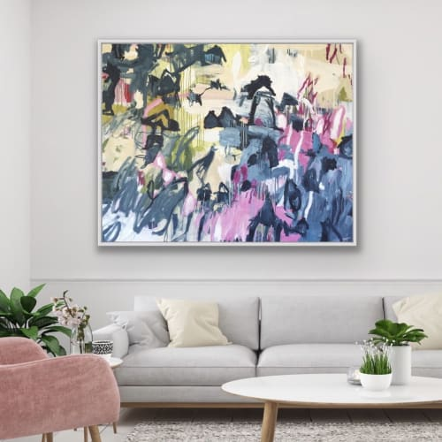 Paintings by Gitte Backhausen Art seen at Private Residence, Gerringong - The Valley (painting)