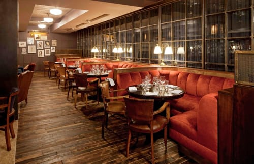 Couches & Sofas by Cider Press Woodworks seen at Soho House New York, New York - Restaurant Banquettes