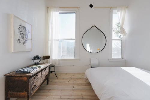 Wall Hangings by Brendon Farrell at The Jennings Hotel, Joseph - Hang Mirror