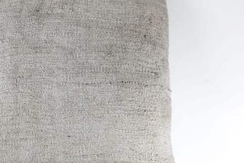 Pillows by HOME - Large Hemp Floor Pillow in Natural