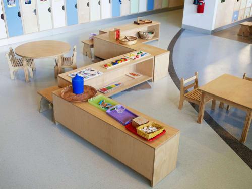 Furniture by Koskela seen at CA Montessori Children's Centre, North Ryde - Custom Furniture