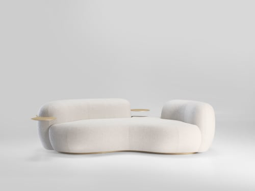 Couches & Sofas by SECOLO seen at Creator's Studio, Milan - Tateyama Sofa