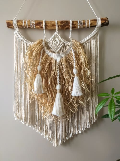 Macrame Wall Hanging by Root Design seen at Creator's Studio - Macrame Wall Hanging
