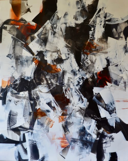 BETWEEN US V   Paintings by Johanne Brouillette