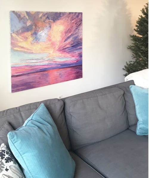 Paintings by Celina Melo seen at Private Residence, Mississauga - Agape