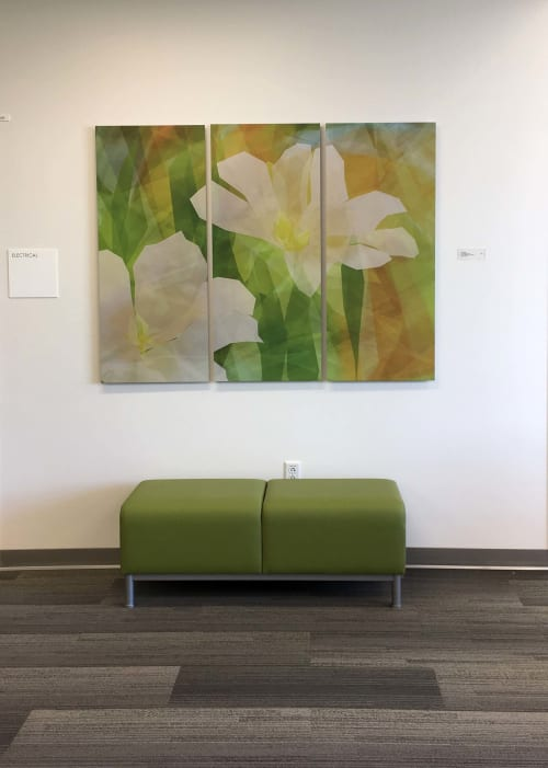 Art & Wall Decor by Rica Belna seen at Kaiser Permanente Santa Rosa Medical Offices, Santa Rosa - Rica Belna art, Moved Landscape