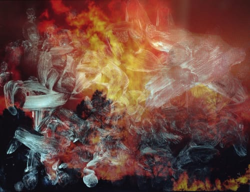 Photography by Tabitha Soren seen at Private Residence, Los Angeles - lake-tahoe-wildfires from Surface Tension