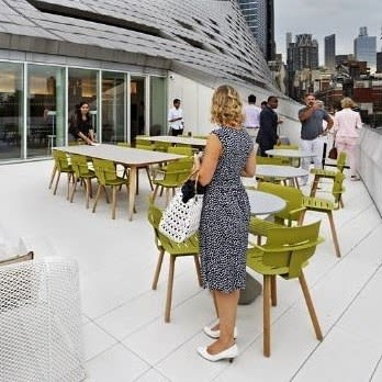 Chairs by Mark Gabbertas seen at VIA 57 West, New York - Coco Chairs